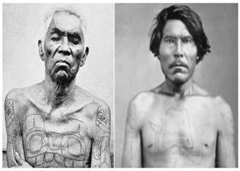 קעקועים אינדיאנים (האידה)